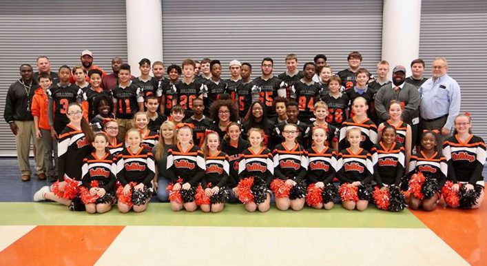 RBSMS football team has won 41 consecutive games and 7 straight conference titles.