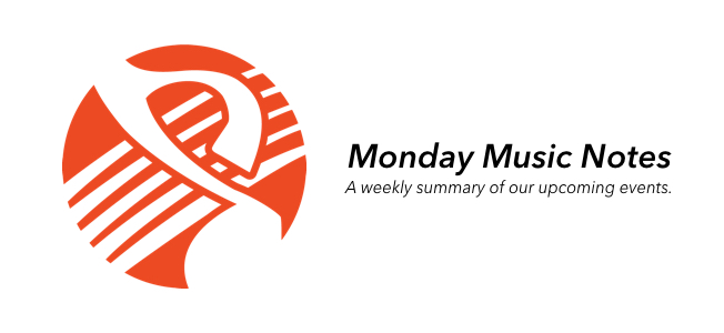Monday Music Notes for 9/3