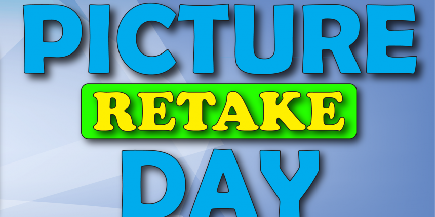 October 30th is Picture Retakes!