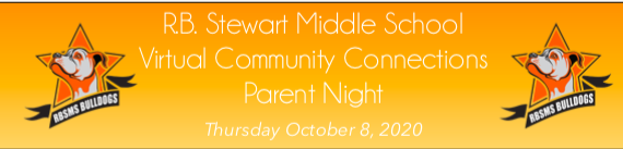 Community Connections Night Oct. 8th